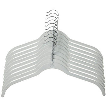 Joy Mangano 10-Pc. Huggable Hanger Set for Shirts | macys.com