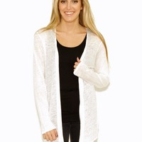 Majestic Open Waterfall Cardigan
