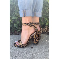 Friday Night Heel- Leopard