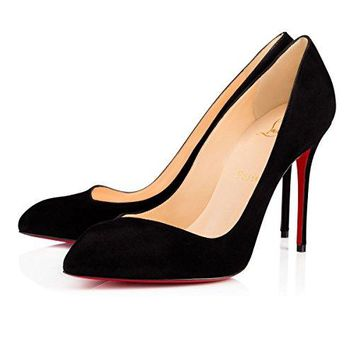 Christian_louboutin Corneille's Pointed Fashion Heels Are Black