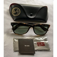 Free shipping Genuine RayBan New Wayfarer Unisex Sunglasses RB2132