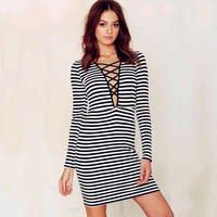 New Fashion Summer Sexy Women Mini Dress Casual Dress for Party and Date = 4725382724