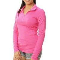Nike Women's Lucky Azalea Long Sleeve Mesh Top
