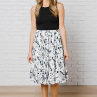 "Rosa ""Rose"" Midi Skirt-FINAL SALE"