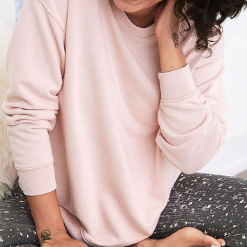 Aerie Downtown Sweatshirt, Pink Party