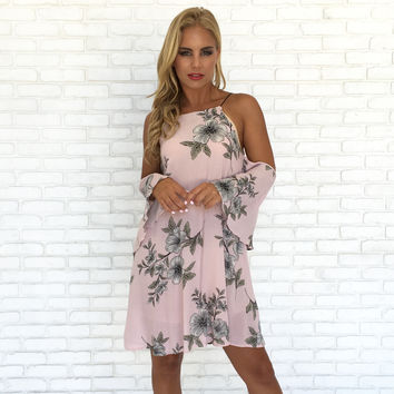 Beauty In Bloom Pink Floral Dress