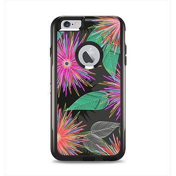 The Bright Colorful Flower Sprouts Apple iPhone 6 Plus Otterbox Commuter Case Skin Set