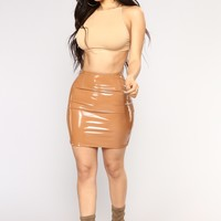 Boot Camp Skirt - Camel