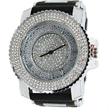 Micro Paved Trill Rap Watch