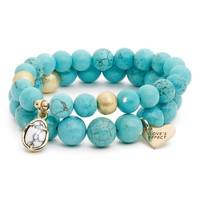 Love's Affect Set of 2 Semiprecious Stone Bracelets | Nordstrom