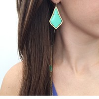 Alex Earrings in Mint - Kendra Scott Jewelry