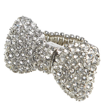 Blingy Bow Stretch Ring | Shop Jewelry at Wet Seal