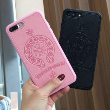 Chrome Hearts iPhone Phone Cover Case For iphone 6 6s 6plus 6s-plus 7 7plus Soft silicone iphone case+ best gift