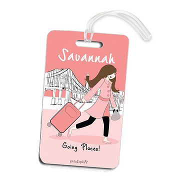 Going Places NYC Travel  Luggage Tags