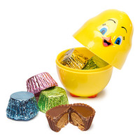 Reese's Peanut Butter Cup Minis Filled Plastic Chicks: 15-Piece Displa