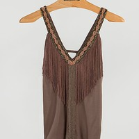 Gimmicks By BKE Fringe Tank Top