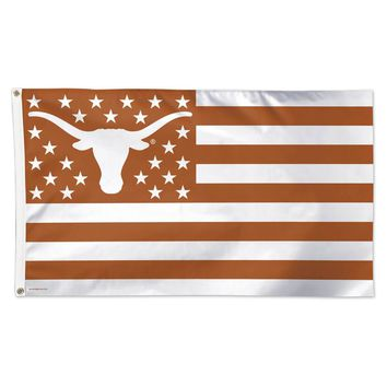 Texas Longhorns 3' x 5' American Flag with Stars