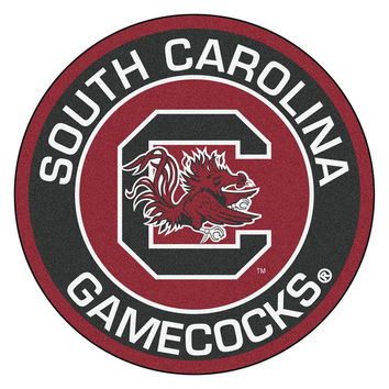 South Carolina Gamecocks NCAA Rounded Floor Mat (29in)