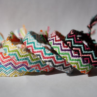 MADE TO ORDER - Friendship Bracelet - Zig Zag