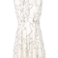 Carven Floral Print Dress - Farfetch