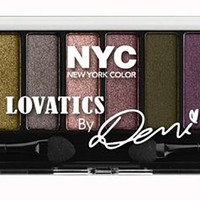 N.Y.C. New York Color Lovatics by Demi Lovato, 12 Color Eyeshadow...