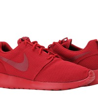 New Nike Roshe Run One Triple Red Mens Trainers Shoes Limited Edition Size 9.5