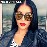 Mirrored Classic Gradient Sunglasses Women Brand Oculos de sol Feminino Fashion TR90 Sun Glasses Polarized  Female Black Shades