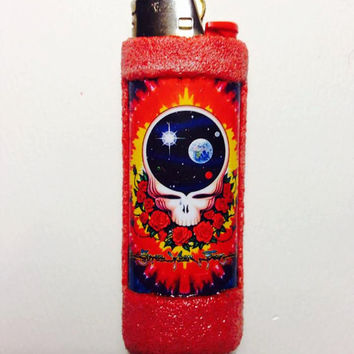 Grateful Dead Stealie Bic Lighter case