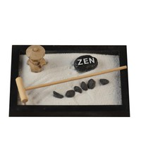 Handmade Wood Zen Garden Home Decoration Accessory