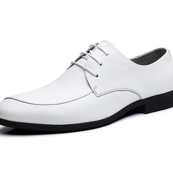 Genuine Leather Layered Luxury Oxfords Men Shoes Dress Fashion Business Men Shoes Casual Designer