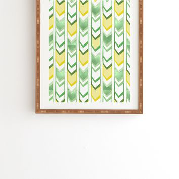 Heather Dutton Right Direction Lemon Lime Framed Wall Art