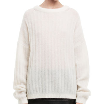 Acne Studios - Dramatic moh white