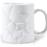 Fred & Friends CRACKED UP Mug