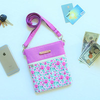 Small Crossbody Bag for her // Personalized Travel Gift // cross body bag // mini crossbody bag // small crossbody purse