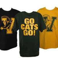 Youth Go Cats Go T-Shirt | The UVM Bookstore