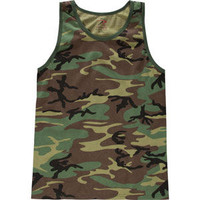 Rothco Army Mens Tank Camo Green  In Sizes