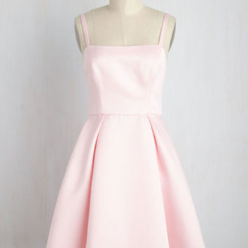 Understated Statement Dress in Carnation | Mod Retro Vintage Dresses | ModCloth.com