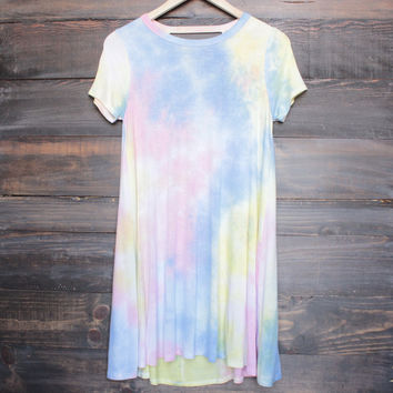 to dye for t shirt dress - rainbow tie dye