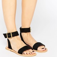 ASOS FRANCIS Suede Two Part Sandals