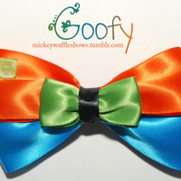 Goofy Hair Bow by MickeyWaffles on Etsy