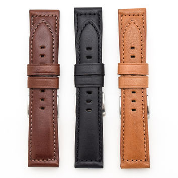 Toscana Genuine Horween Leather Padded Watch Strap