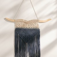 Rosa Ombre Macramé Wall Hanging | Urban Outfitters