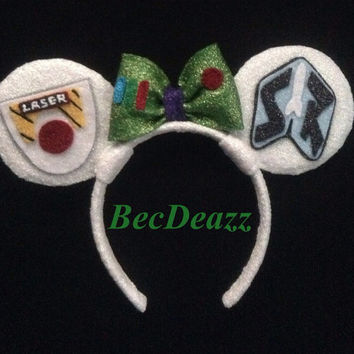 Disney's Toy Story Buzz Lightyear Minnie Mouse ears headband