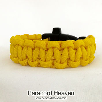Microcephaly Awareness Paracord Survival Bracelet with Emergency Whistle