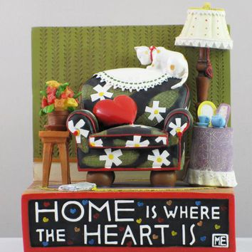 Mary Englebreit Home Is Where the Heart Is Bookend-863955