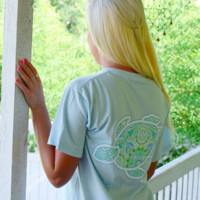 Gypsy Spirit Short Sleeve in Chambray