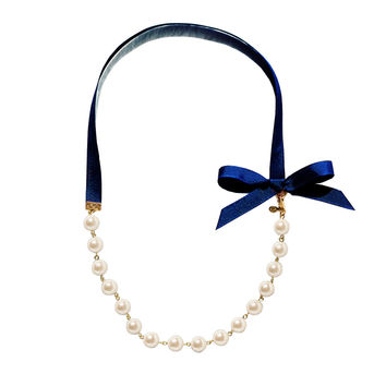 Queen B Pearl Necklace by Kiel James Patrick