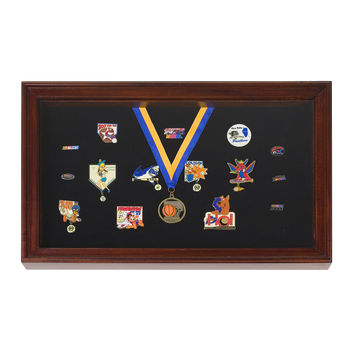 Display Case for Pins -  Medals -  Badges