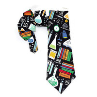 Chemistry tie, Science tie, Laboratory tie, Nerd tie, Scientist tie, teacher gift, accessory, science necktie, Mens tie, womens tie