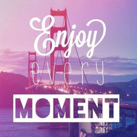 Enjoy Every Moment Art Print by Pink Berry Pattern